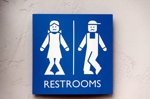 Even Lego People do the Pee Pee Dance. These were the signs for the restrooms at Legoland in California. Had to chuckle everytime we went in to one.